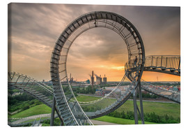 Lienzo  Tiger & Turtle Magic Mountain Duisburg - Dennis Stracke
