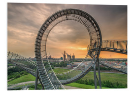 Cuadro de PVC  Tiger & Turtle Magic Mountain Duisburg - Dennis Stracke