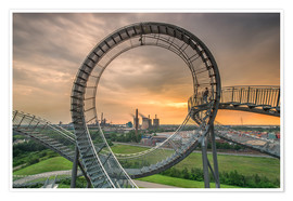 Póster  Tiger & Turtle Magic Mountain Duisburg - Dennis Stracke