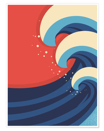 Póster  The Great Wave