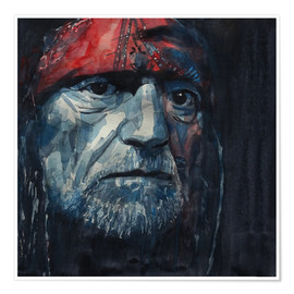 Póster  Always On My Mind - Willie Nelson - Paul Lovering