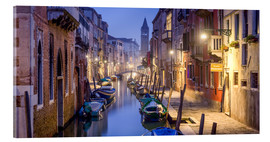 Metacrilato  Venice panorama at night - Jan Christopher Becke
