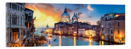 Metacrilato  Canal Grande panorama in Venice, Italy - Jan Christopher Becke