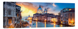 Lienzo  Canal Grande panorama in Venice, Italy - Jan Christopher Becke
