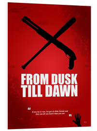 Cuadro de PVC  From Dusk Till Dawn - Alternative Fanart - HDMI2K