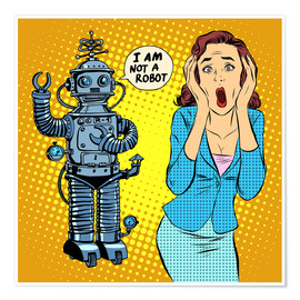 Póster  I am not a robot