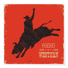 Póster  Rodeo Ride