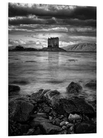 Cuadro de PVC  Castle Stalker, Scotland - Martina Cross