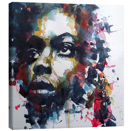 Lienzo  Nina Simone  : My Baby Just Cares For Me  - Paul Paul Lovering Arts