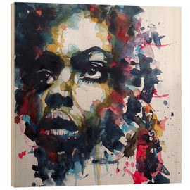 Madera  Nina Simone  : My Baby Just Cares For Me  - Paul Paul Lovering Arts