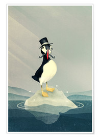 Póster  Lord Puffin - Romina Lutz