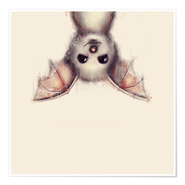 Póster  Hang in there, bat - Romina Lutz