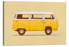 Lienzo  Yellow Van - Florent Bodart