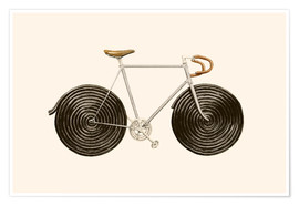 Póster  Licorice Bike - Florent Bodart
