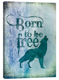 Lienzo  born to be free - Andrea Haase