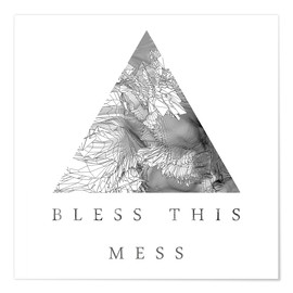 Póster Bless This Mess