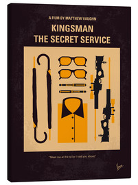chungkong - No758 My Kingsman minimal movie poster