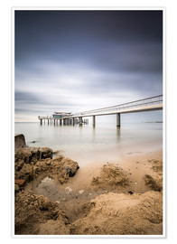 Póster Minimalism & Perspective (Timmendorf beach / Germany)