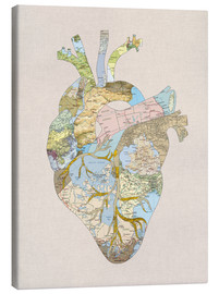 Lienzo  A Traveler's Heart - Bianca Green