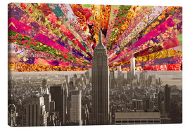 Lienzo  BLOOMING NEW YORK - Bianca Green