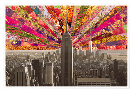 Póster BLOOMING NEW YORK