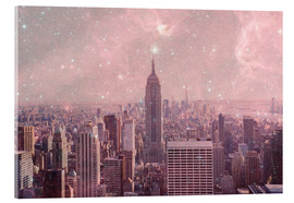 Cuadro de metacrilato  Stardust Covering NYC - Bianca Green