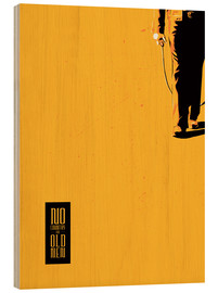 Cuadro de madera  No country for old men - Fourteenlab