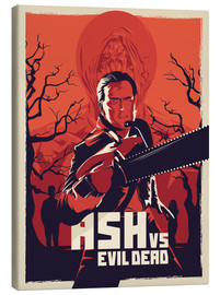 Lienzo  Ash Vs the evil dead - Fourteenlab