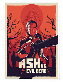 Póster Ash Vs the evil dead (inglés)
