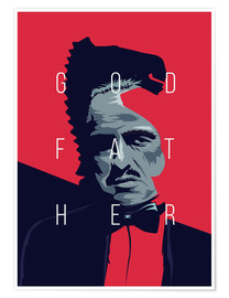 Póster  godfather - Fourteenlab