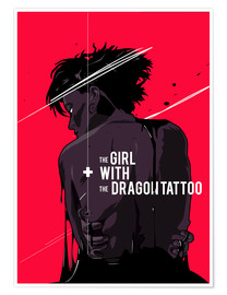 Póster The Girl with The Dragon Tattoo