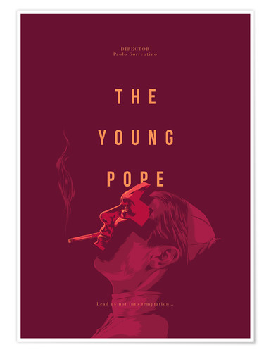 Póster The Young Pope (inglés)