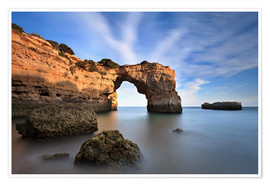 Póster Grottos at the Algarve
