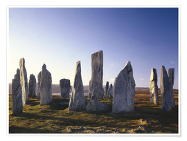 Póster  Rock of Callanish - Thonig