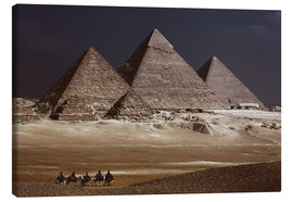 Lienzo  Pyramids of Giza, Middle East - Catharina Lux