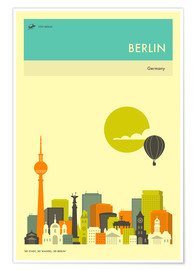 Póster BERLIN TRAVEL POSTER