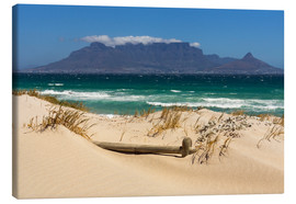 Lienzo  Cape Town, Bloubergstrand - Catharina Lux