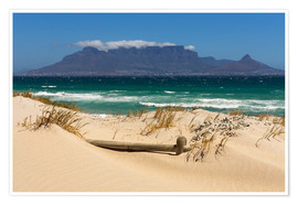 Póster  Cape Town, Bloubergstrand - Catharina Lux