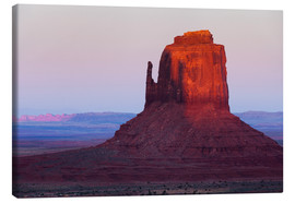 Lienzo  Monument Valley at sunset - Rainer Mirau