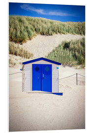 Cuadro de PVC  Bathhouse on Texel - Beate Margraf