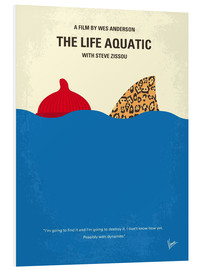 Cuadro de PVC  The Life Aquatic with Steve Zissou - chungkong