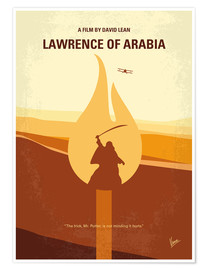 Póster Lawrence Of Arabia