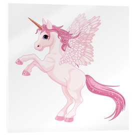 Cuadro de metacrilato  Mi unicornio - Kidz Collection