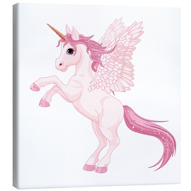 Lienzo  My Unicorn - Kidz Collection