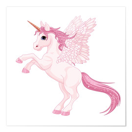 Póster  Mi unicornio - Kidz Collection