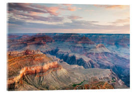 Cuadro de metacrilato  Sunset over the Grand Canyon south rim, USA - Matteo Colombo
