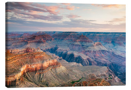 Lienzo  Sunset over the Grand Canyon south rim, USA - Matteo Colombo