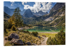 Metacrilato  Idyllic mountain lake in the Tyrol mountains (Austria) - Christian Müringer