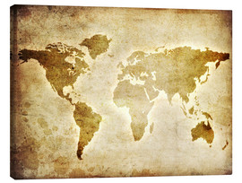 Lienzo  Vintage World Map