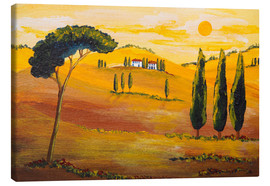 Lienzo  Sunshine in Tuscany in the Morning - Christine Huwer